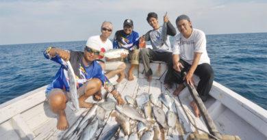 Geledah Spot Rambe Pulau Tunda