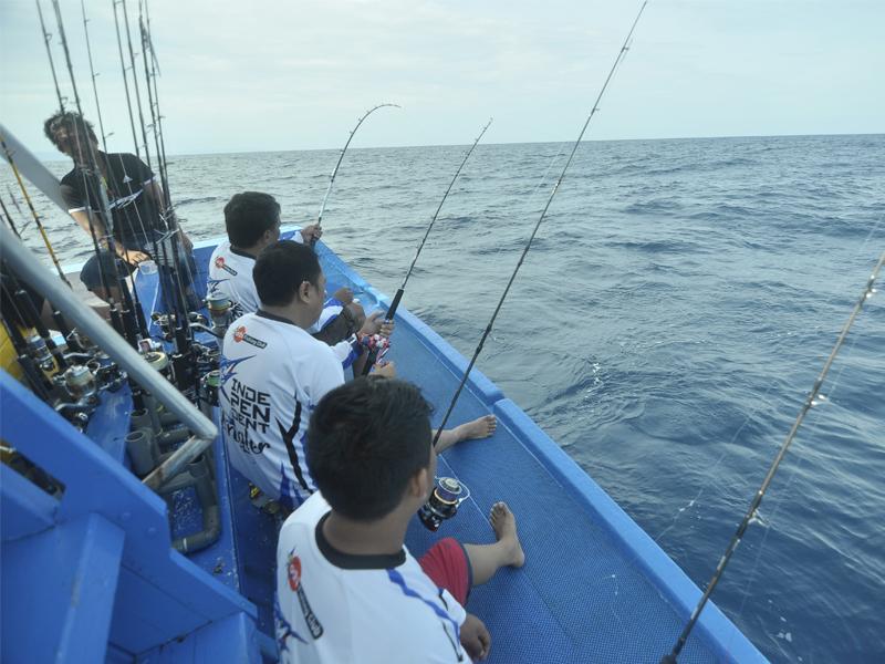 Mancing di Laut Donggala