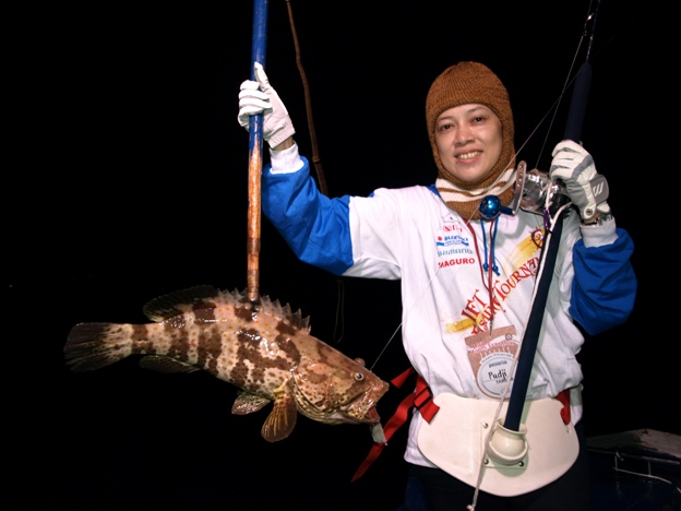Puji Astuti Agustina, SE : Wildfishing Lady