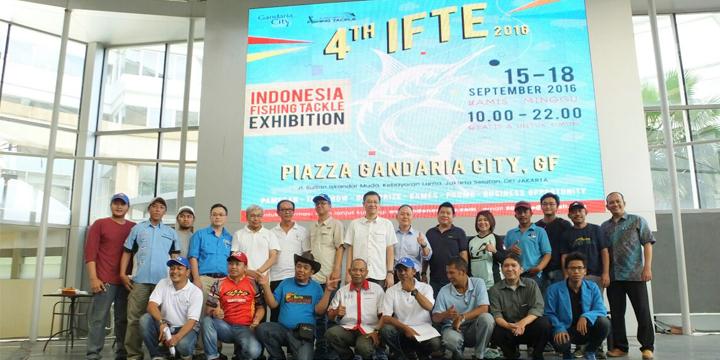Pameran Alat Pancing IFTE 2016 Resmi Dibuka