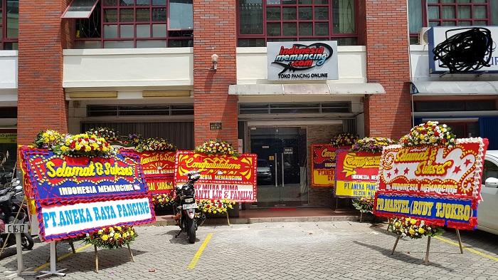 Grand Launching Showroom Indonesia Memancing