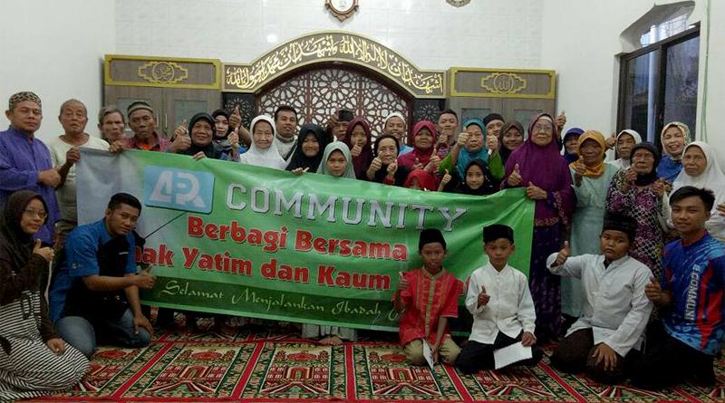 ARP Community Lakukan Kegiatan Santunan di Jakarta
