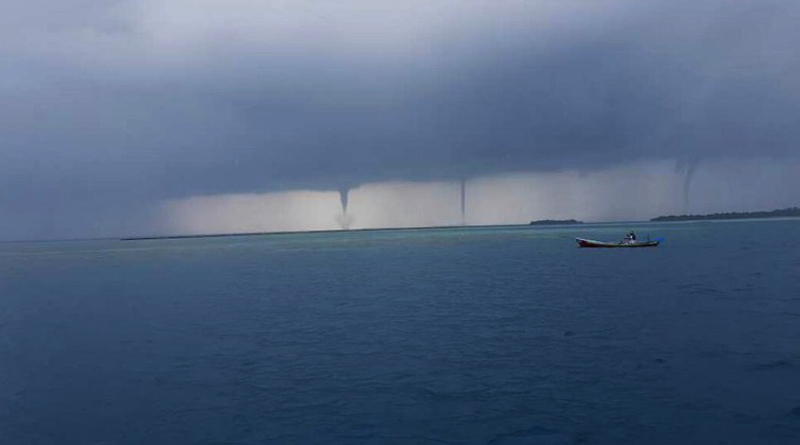 Bagaimana Memprediksi Kemunculan Badai Tornado Di Laut?