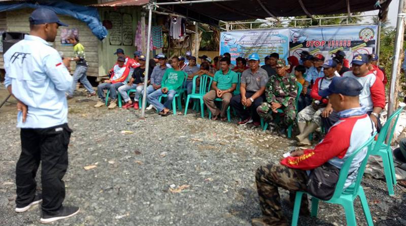 Diplomasi Prefentif Komunitas 7F dan WWI Kalsel Tangkal Illegal Fishing