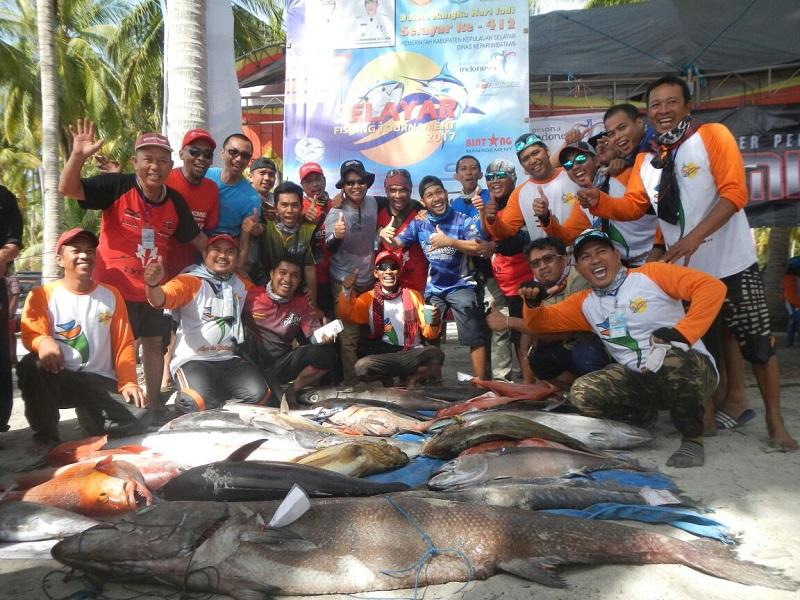 Ini Daftar Pemenang Event Selayar Fishing Tournament