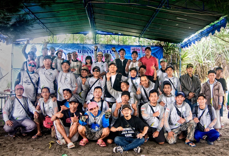 Senopati Fishing Club Gelar Uncal Bareng & Release Bibit Tukik