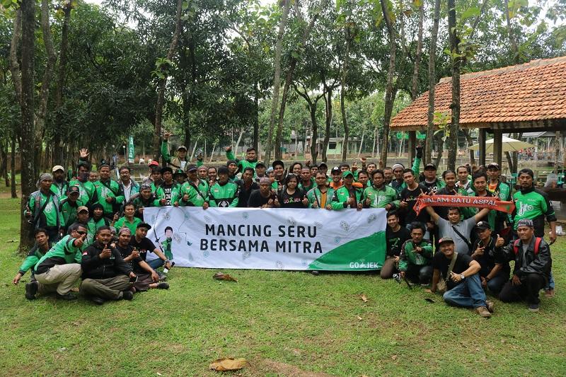 GO-JEK Gelar Mancing Seru Bersama Mitra di 27 Kota