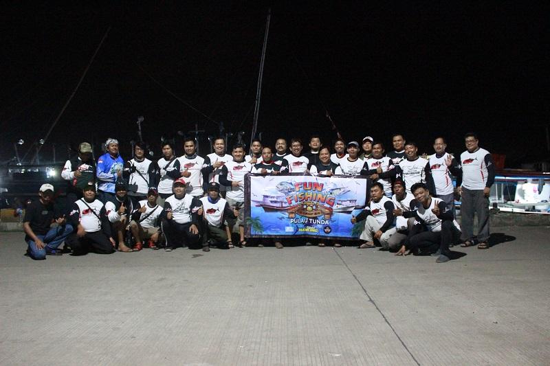 Grup Sahabat Angler; Semarak Fun Fishing Di Pulau Tunda