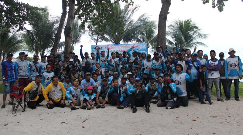 Rayakan HUT Garnus Ke-6, 98 Garonger Neg-Bar di Pulau Ayer