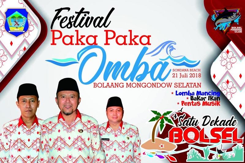 Festival Paka Paka Omba; Rayakan HUT Bolsel Dengan Lomba Mancing