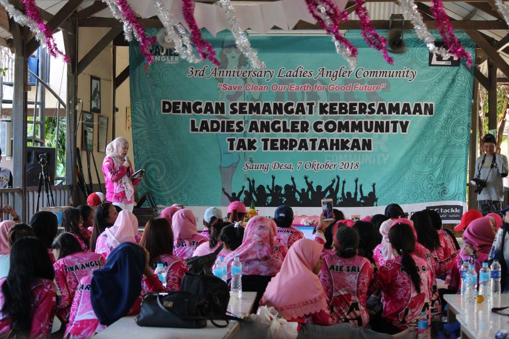 Gelora Semangat Tak Terpatahkan Ala Ladies Angler Community