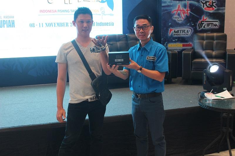 IFTE 2018; Grand Prize Stella 4000XG Jadi Milik Pemancing Pontianak