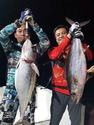 Target tuna Gigi Anjing