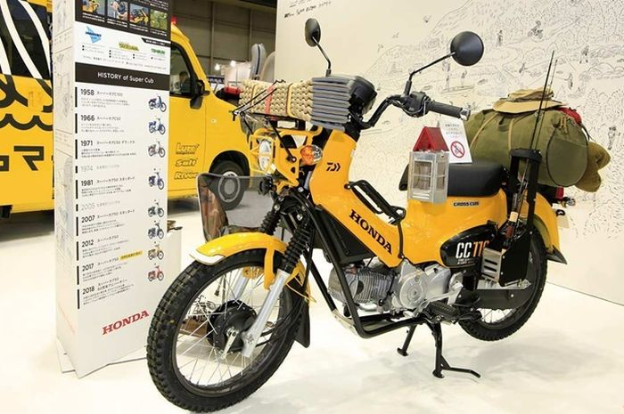 Perkenalkan Motor Honda Modifikasi Khusus Bagi Pemancing