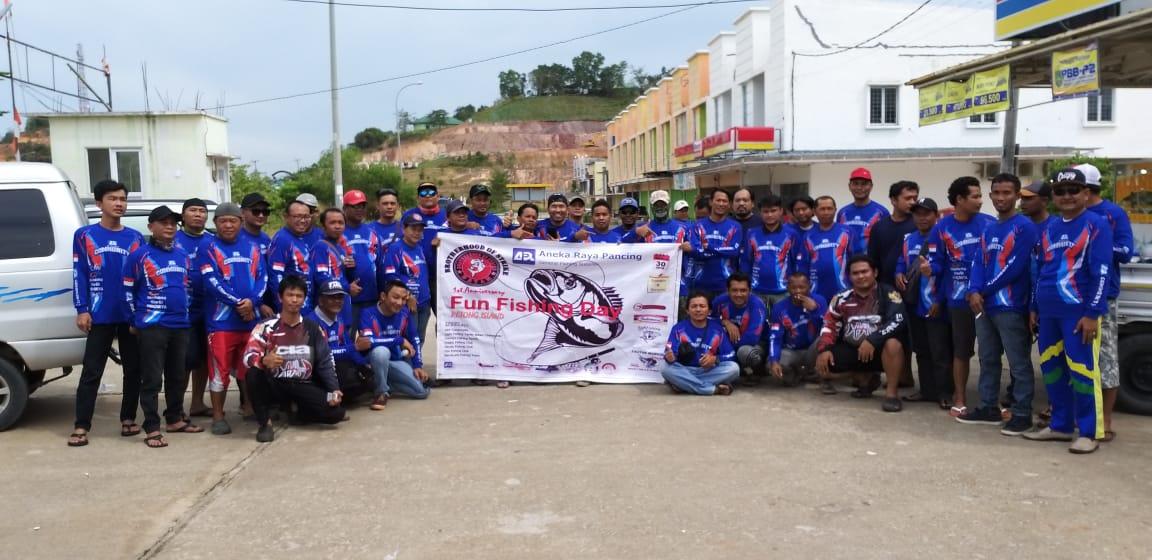 Fun Fishing Day Anniversary B.O.S Batam Di Pulau Petong