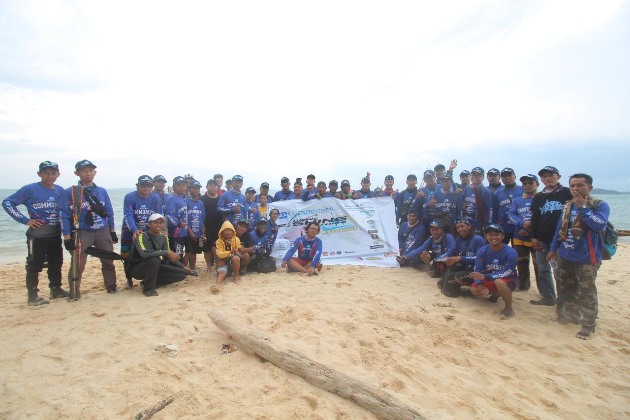 ARP Community regional Batam Gelar Luring Fishing Festival