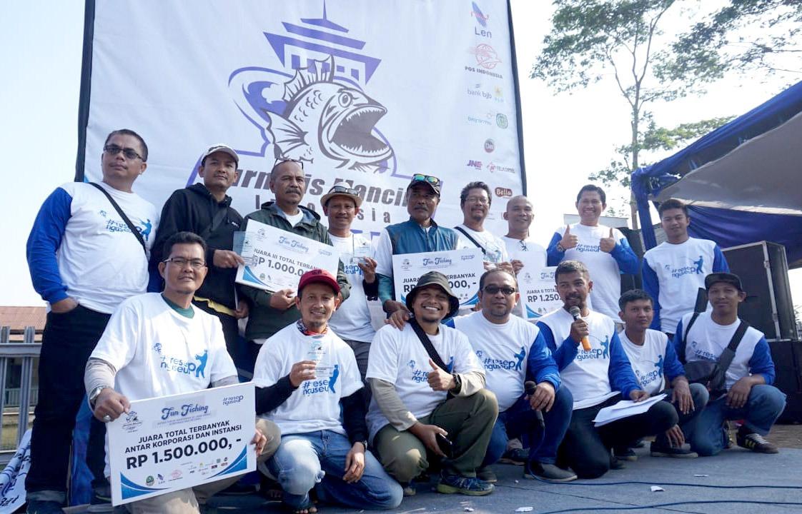 Berikut Pemenang Fun Fishing Peresmian JMI Jabar