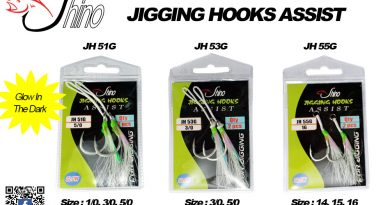 Shino Jigging Assist Hook; Andalan Pengait Rahang Monster