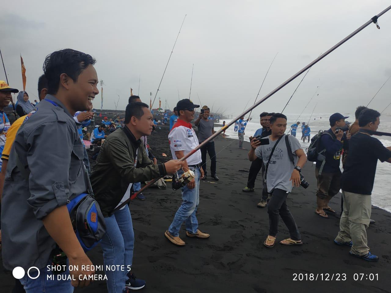 Lumajang Fishing Tournament 2019; Mengenalkan Potensi Wisata Pantai Wotgalih