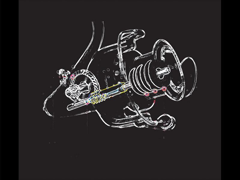 Bagaimana penentuan penggunaan rasio pada ril spinning?