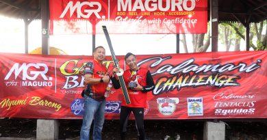 Daus Separo Juarai Maguro Calamari Challenge