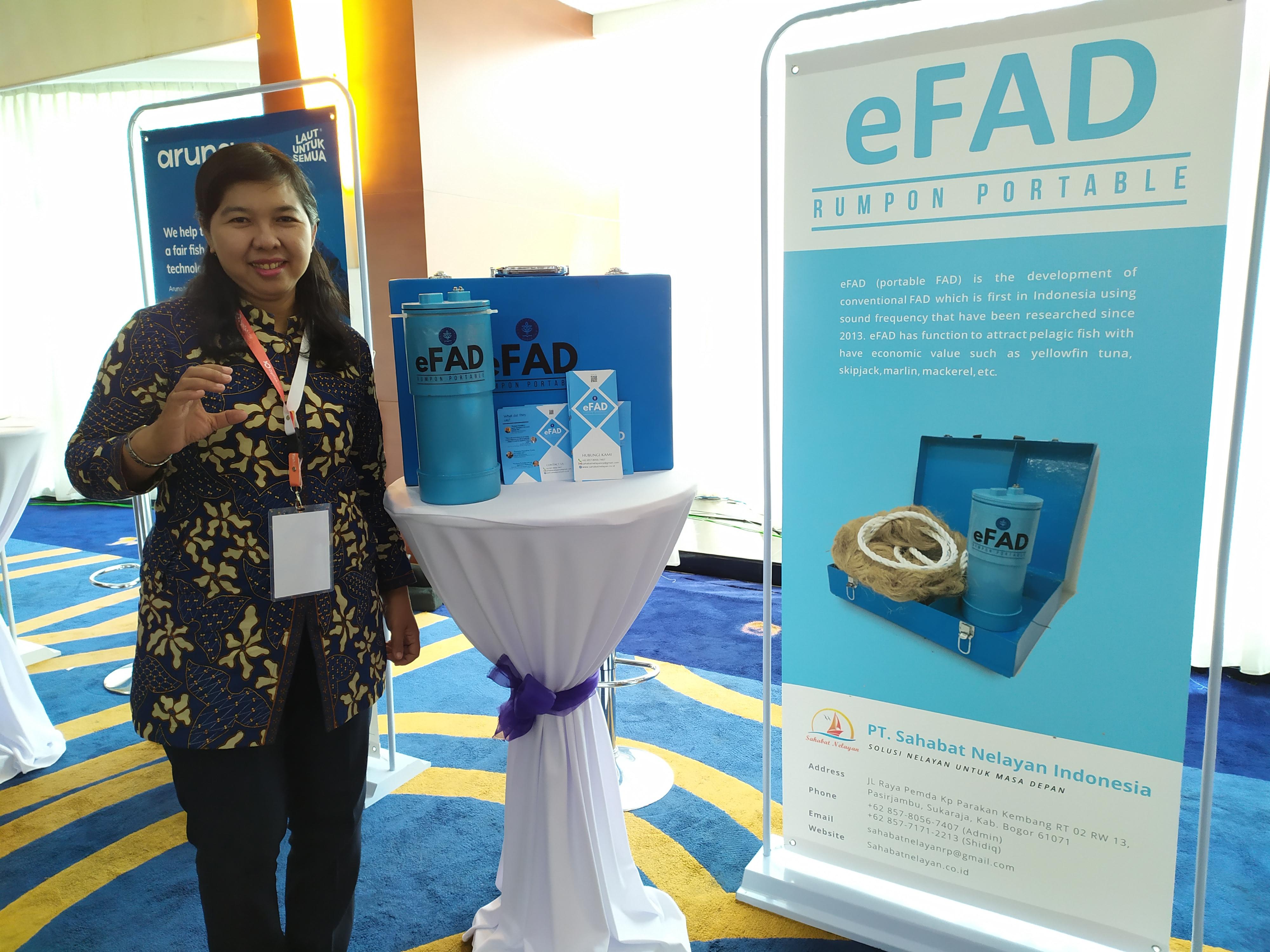 Mengenal eFAD, Rumpon Portable yang Bisa 'Memanggil' Ikan